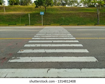 Zebra Crossing is a crossing on a road intended for pedestrians who will cross the road