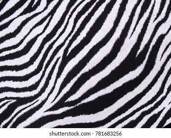 Zebra Pattern Background