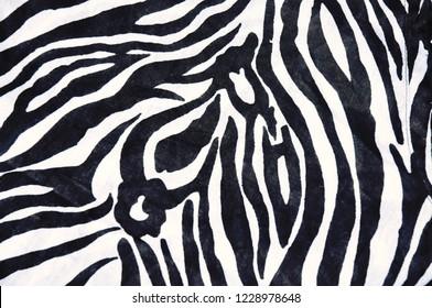 Zebra patterned background texture.