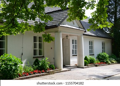 Zelazowa Wola, Poland - June 2013: The Birthplace of Frédéric Chopin located in the large natural park in Zelazowa Wola