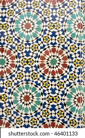 Zellige tiles from Morocco