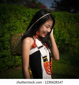 a zeme girl india - Shutterstock ID 1230628147
