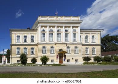 Zemstvo Administration (Administration building). Kamyshlov. Sverdlovsk region. Russia.