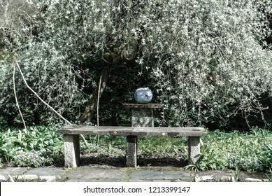 Zen Beautiful Quiet Park Landscape