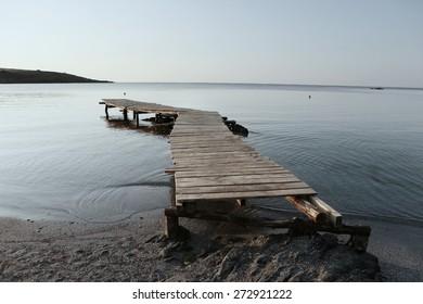 Zen pier into the Black sea