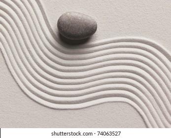 Zen stone background