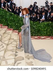 Zendaya Coleman attends the Metropolitan Museum of Art Costume Institute Benefit Gala on May 7, 2018 at the Metropolitan Museum of Art in New York, New York, USA