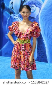 Zendaya Coleman at the Los Angeles premiere of 'Smallfoot' held at the Regency Village Theatre in Westwood, USA on September 22, 2018.