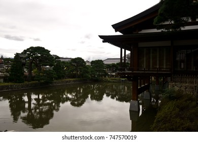 Zenkoji Temple and the garden in Nagano, Japan