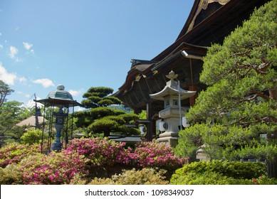 Zenkoji temple in Nagano