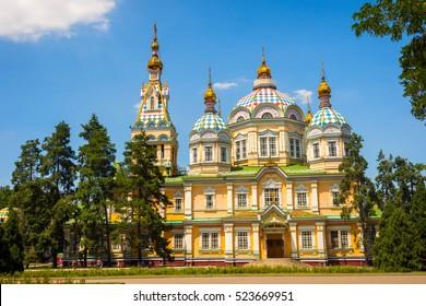 Zenkov Cathedral, Almaty, Kazakhstan