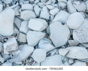 Zeolite gravel texture. Adsorbent materials. gravel crushed stone.  Close up