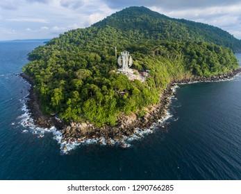 Zero Kilometers Landmark of Indonesia, Weh island, Sabang, Indonesia
