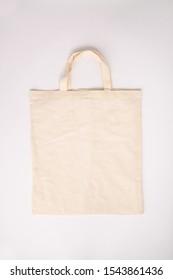 Zero waste concept. Eco-friendly cotton bag