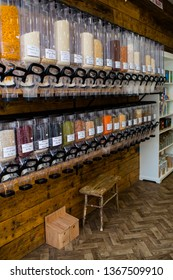 Zero waste store shop supermarket eco friendly shopping for the local community