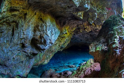 zeus cave, water temperature is 5 degrees centigrade in summer and winter