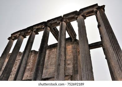 Zeus Temple Aizonai Çavdarönü Kütahya Turkey