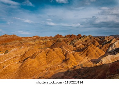 The Zhangye Danxia National Park located in the Gansu province in China's northwest is UNESCO World Heritage Site.