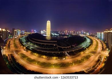 Zhengzhou CBD Panorama