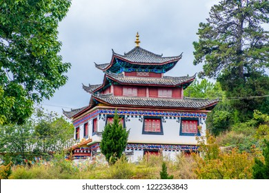 Zhiyun Buddhist Temple near Lijiang Ancient Town, Yunnan Province, China.
