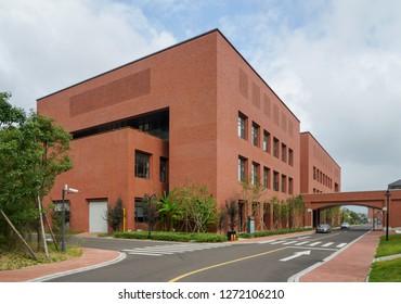 Zhoushan, China - Sep 2016 : College of oceanography, zhejiang university (zhoushan campus)