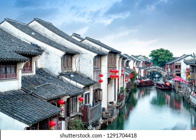Zhouzhuang, China is a famous water town in the Suzhou area. There are many ancient towns in the south of the Yangtze River.