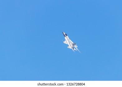 Zhuhai, GuangDong, China - November 07, 2018:  Joint Fighter-17 Thunder at Airshow China 2018