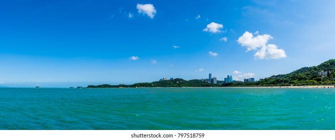 Zhuhai seaside scenery