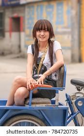 Girls in Zhuozhou