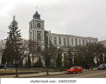 Zhytomyr, Ukraine - February 24, 2019: St. Jonah from Duklya Cathedral in Zhytomyr