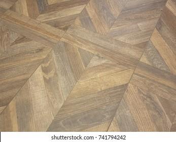 Zig Zag Hardwood Floor Design Backdrop