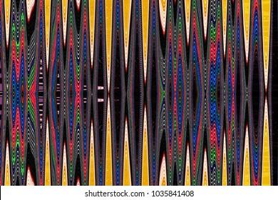 Zig Zag pattern image of corrugated plastic.