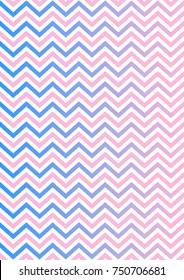 Zig zag - Seamless wavy stripes background