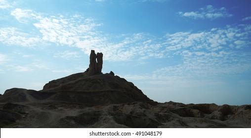 Ziggurat Birs Nimrud, the mountain of Borsippa, Iraq
