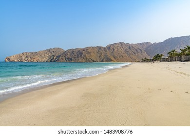 Zighy Bay in Musandam, Oman.