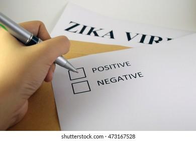 Zika virus clinical tests