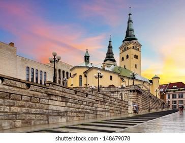 Zilina - Trinity Cathedral, Slovakia