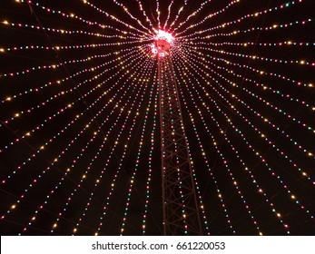 Zilker Park Christmas Tree in Austin TX