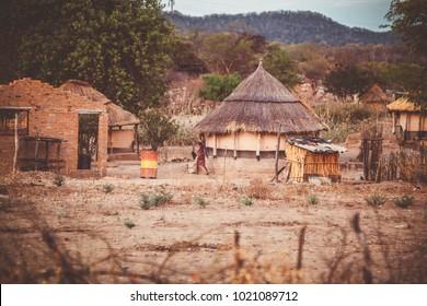 Zimbabwe traditional house