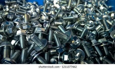Zinc bolts material
