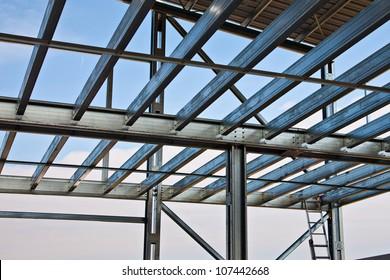 Zinc steel structure of light floor