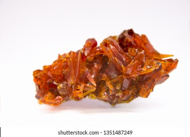 Zincite mineral smelting product from Oclusz, Poland