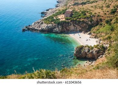 Zingaro Natural Reserve, Cala Tonnarella dell'Uzzo, Sicily, Italy