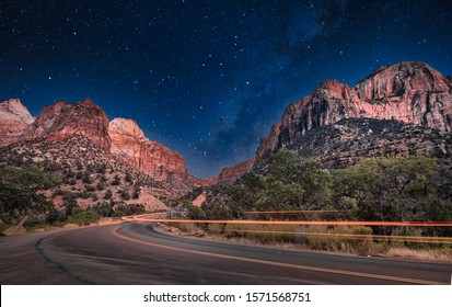 Zion Canyon, Zion National Park, Springdale, Utah, USA