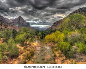 Zion National Park is an American national park located in Southwestern Utah near the city of Springdale.