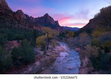 Zion National Park - Autumn