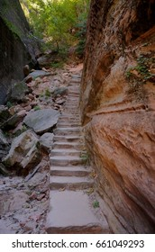 Zion National Park, Hidden Canyon Stairs