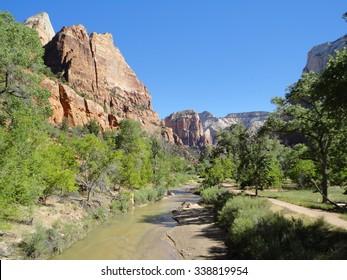 Zion National Park River