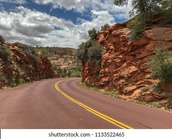 Zion National Park. southwest Utah nature preserve distinguished by Zion Canyon's steep red cliffs. Zion Canyon Scenic Drive cuts through its main section, leading to forest trails.