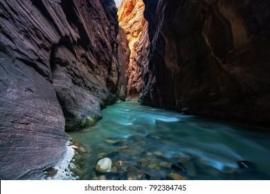Zion National Park Utah US